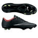 Nike Mercurial Vapor X Soccer Cleats (Black/Hyper Punch/White)