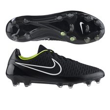 Nike Magista Opus FG Soccer Cleats (Black/Volt/White)