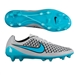 Nike Magista Opus FG Soccer Cleats (Wolf Grey/Black/Turquoise Blue)