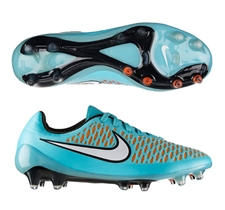Nike Magista Opus FG Soccer Cleats (Hyper Turquoise/Laser Orange/Hyper Crimson/White)