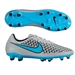 Nike Magista Onda FG Soccer Cleats (Wolf Grey/Black/Turquoise Blue)