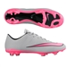 Nike Mercurial Veloce II FG Soccer Cleats (Wolf Grey/Hyper Pink)