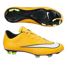Nike Mercurial Veloce II FG Soccer Cleats (Laser Orange/Black/Volt/White)