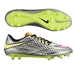 Nike Hypervenom Phantom Premium FG Soccer Cleats (Chrome/Metallic Gold Coin/Hyper Pink)