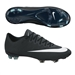 Nike Mercurial Vapor X CR7 FG Soccer Cleats (Black/Neo Turquoise/Space Blue/White)