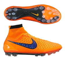 Nike Magista Obra AG-R Soccer Cleats (Total Orange/Laser Orange/Persian Violet)