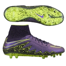 Nike Hypervenom Phantom II FG Soccer Cleats (Hyper Grape/Black)