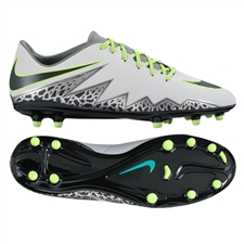 Nike Hypervenom Phelon II FG (Pure Platinum/Black/Ghost Green)