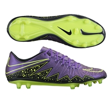 Nike Hypervenom Phinish FG Soccer Cleats (Hyper Grape/Black/Volt)