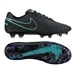 Nike Tiempo Legend VI FG Soccer Cleats (Black/Black)