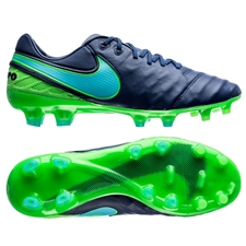 Nike Tiempo Legend VI FG Soccer Cleats (Coastal Blue/Polarized Blue/Rage Green)