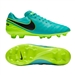 Nike Tiempo Legacy II FG Soccer Cleats (Clear Jade/Black/Volt)
