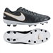 Nike Tiempo Mystic V FG Soccer Cleats (Black/White/Metallic Gold)
