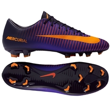 Nike Mercurial Victory VI FG Soccer Cleats (Purple Dynasty/Bright Citrus/Hyper Grape)