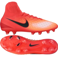 Nike Magista Orden II FG Soccer Cleats (Total Crimson/Black/University Red)