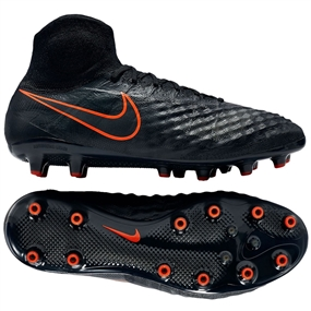 Nike Magista Obra II AG-R Soccer Cleats (Black/Black)