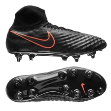 Nike Magista Obra SG-Pro Soccer Cleats (Black/Black)