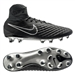 Nike Magista Obra II Tech Craft 2.0 (Leather) FG Soccer Cleats (Black/Black)