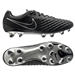 Nike Magista Opus II Tech Craft 2.0 (Leather) FG Cleats (Black/Black)