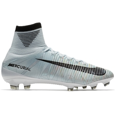 Nike Mercurial SuperFly V CR7 FG Soccer Cleats (Blue Tint/Black/White/Volt)