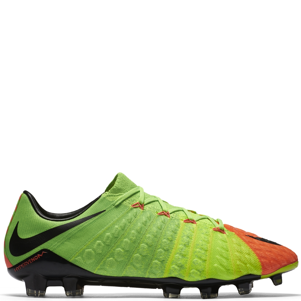 Nike Hypervenom Phantom III Firm Ground - Men's Green/Black