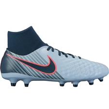Nike Magista Onda II DF FG Soccer Cleats (Light Armory Blue/Armory Navy/Armory Blue)