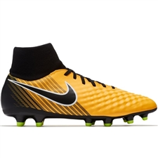 Nike Magista Onda II DF FG Soccer Cleats (Laser Orange/Black/White/Volt)