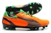 Puma evoSPEED 1 K FG Soccer Cleats (Flame Orange/Team Charcoal/Classic Green)
