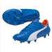 Puma evoSPEED SL (Leather) FG Soccer Cleats (Electric Blue Lemonade)
