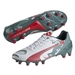 Puma evoSPEED 1.3 Graphic FG Soccer Cleats (White/Sea Pine/High Risk Red)