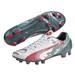 Puma evoSPEED 2.3 Graphic FG Soccer Cleats (White/Sea Pine/High Risk Red)