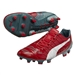 Puma evoPOWER 1.2 Graphic FG Soccer Cleats (High Risk Red/White/Sea Pine)