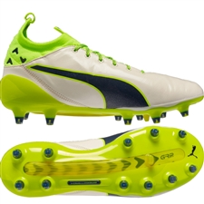 Puma evoTOUCH Pro Special Edition FG Soccer Cleats (Birch/Yellow)