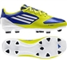 Adidas Womens F30 TRX FG Soccer Cleats (Blue/Lime/White)