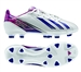 Adidas Womens F10 TRX FG Soccer Cleats (Running White/Blast Pink)