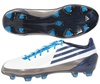 Adidas Women's F30 TRX Synthetic Firm Ground Soccer Cleats (White/NightSky/Cyan)