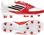 Adidas Womens F30 TRX FG Soccer Cleats (White/Black/Core Energy)