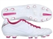 Nike Women's Tiempo Mystic IV FG Soccer Cleats (Summit White/Fireberry/Metallic Silver)