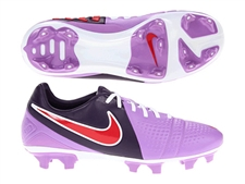Nike Women's CTR360 Trequartista 3 FG Soccer Cleats (Atomic Purple/Hyper Red/Grand Purple)