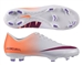 Nike Women's Mercurial Victory IV FG Soccer Cleats (White/Atomic Orange/Atomic Violet/Bright Magenta)