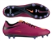 Nike Women's Hypervenom Phatal FG Soccer Cleats (Bright Magenta/Black/Atomic Violet/Atomic Orange)