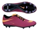Nike Women's Hypervenom Phelon FG Soccer Cleats (Bright Magenta/Black/Atomic Violet/Atomic Orange)
