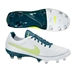 Nike Women's Tiempo Legacy FG Soccer Cleats (White/Night Factor/Volt)
