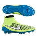 Nike Women's Magista Obra FG Soccer Cleats (Blue Lagoon/Volt/White)