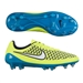Nike Women's Magista Opus FG Soccer Cleats (Volt/Blue Lagoon/White)