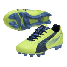 Puma Women's evoSPEED 3.2 FG Soccer Cleats (Fluo Yellow)