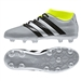 Adidas ACE 16.3 Primemesh Youth FG/AG Soccer Cleats (Silver Metallic/Core Black/Solar Yellow) |  Adidas Soccer Cleats |FREE SHIPPING| Adidas AQ3443 |  SOCCERCORNER.COM