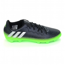 Adidas Messi 16.3 Youth FG Soccer Cleats (Dark Grey/Silver Metallic/Slime Green) |  Adidas Soccer Cleats | FREE SHIPPING | Adidas AQ3518 |  SOCCERCORNER.COM