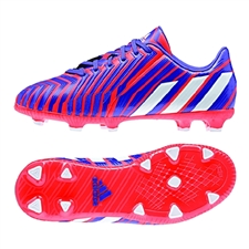 Adidas Predator Absolado Instinct Youth Soccer Cleats (Light Flash Yellow/Running White/Dark Shale)
