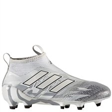 Adidas ACE 17+ Purecontrol Youth FG Soccer Cleats (Clear Grey/White/Core Black) |  Adidas Soccer Cleats |FREE SHIPPING| Adidas BB5947 |  SOCCERCORNER.COM